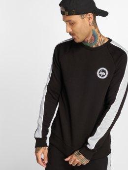 HYPE Pullover Stripe schwarz
