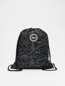 HYPE Shopper Outline Camo Drawstring zwart