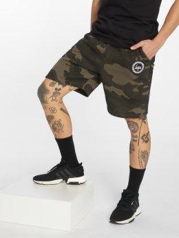 HYPE Shorts Camo Crest khaki