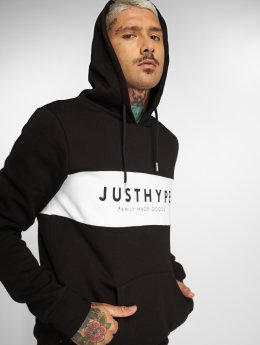 HYPE Sweat capuche Britain noir