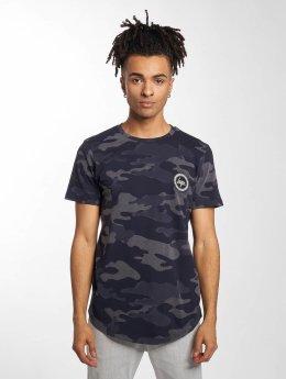 HYPE T-Shirt Laser Camo blau