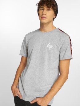 HYPE T-Shirt Taylor Tape grau