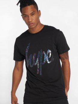 HYPE T-Shirt Foil Script noir