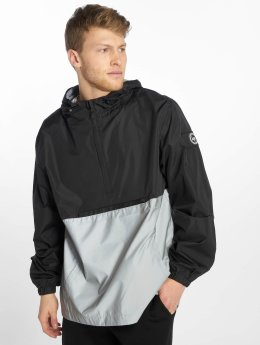 HYPE Übergangsjacke Insignia Reflective Pullover schwarz