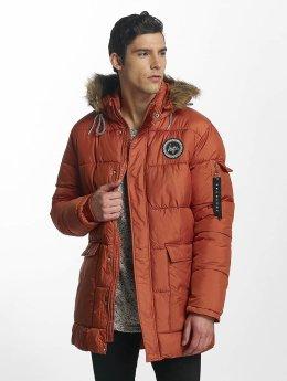 HYPE Winterjacke Explorer Puffa orange