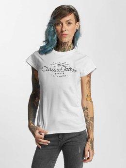 I Love Tattoo T-paidat City Of Ink valkoinen