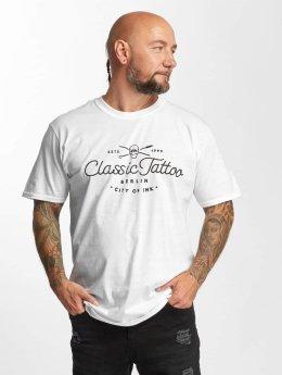 I Love Tattoo T-shirt City Of Ink vit