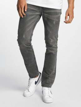 ID Denim Slim Fit Jeans Manuel grijs
