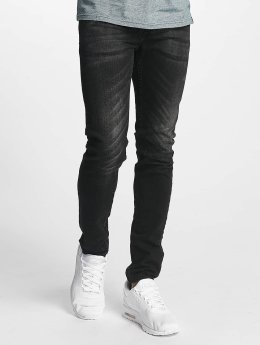 ID Denim Slim Fit Jeans Kula schwarz
