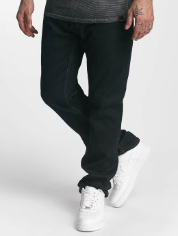 ID Denim Straight fit jeans Five blauw