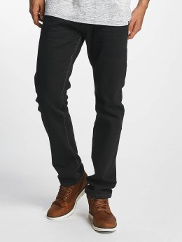 ID Denim Straight Fit Jeans Basic schwarz
