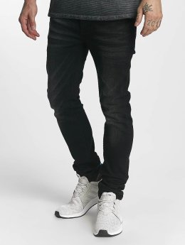 ID Denim Straight Fit Jeans Ville svart