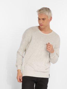 Indicode Пуловер Thibault серый