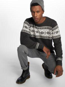 Indicode Пуловер Nohan серый