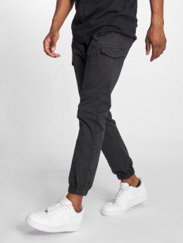 Indicode Pantalon cargo Levi noir