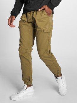 Indicode Pantalon cargo Levi olive