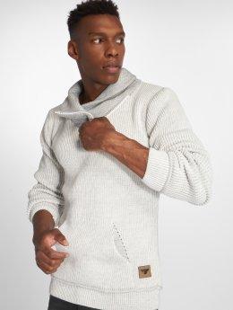 Indicode Pullover Dane weiß