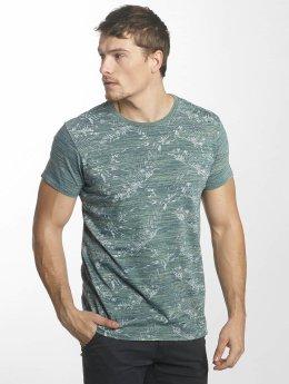 Indicode T-Shirt Edmonton indigo