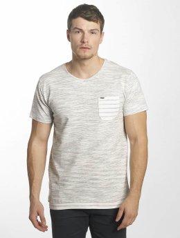 Indicode T-shirts Spring Hill grå