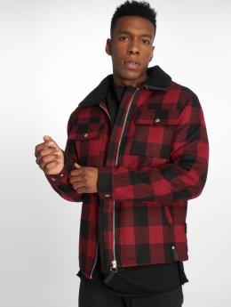 Indicode Winter Jacket Kais red