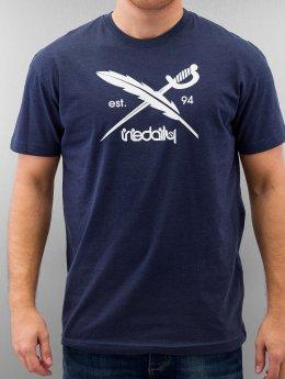 Iriedaily T-Shirt Daily Flag blau