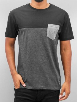 Iriedaily T-Shirt Block Pocket grau