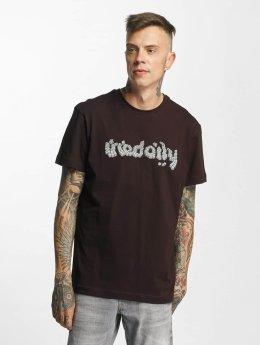 Iriedaily Cobblestone Fitted T-Shirt Aubergine
