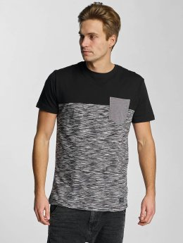 Iriedaily T-Shirt Space Slub Pocket schwarz