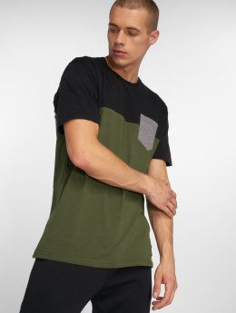 Iriedaily T-Shirt Block Pocket 2 schwarz
