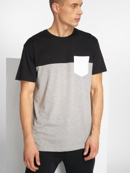 Iriedaily T-Shirt Block Pocket schwarz