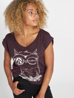 Iriedaily T-Shirt Skateowl violet