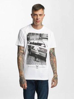 Iriedaily T-Shirt Pissizei weiß