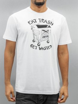 Iriedaily T-Shirt Eat Trash Fitted weiß