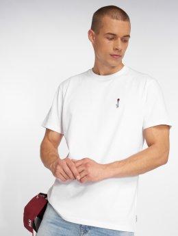 Iriedaily T-Shirt Rosebong Emb weiß