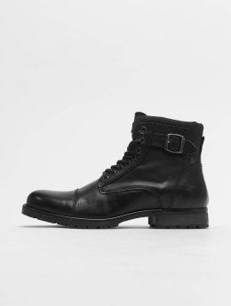 Jack & Jones Čižmy/Boots jfwAlbany èierna