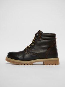 Jack & Jones Čižmy/Boots fwStoke Leather hnedá