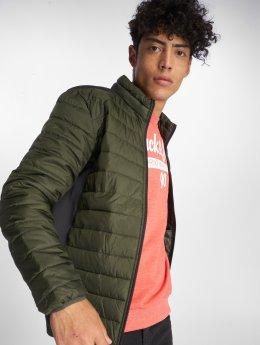 Jack & Jones Демисезонная куртка jcoBoom зеленый