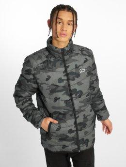 Jack & Jones Демисезонная куртка jorBend Stand серый