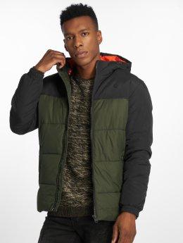 Jack & Jones Зимняя куртка jcoCross оливковый