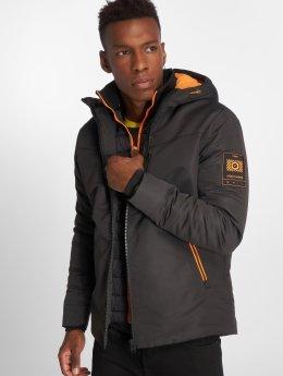 Jack & Jones Зимняя куртка jcoTen черный