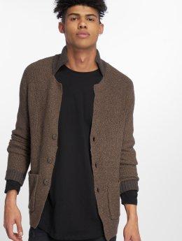 Jack & Jones Кардиган jprRoy Knit Blazer коричневый