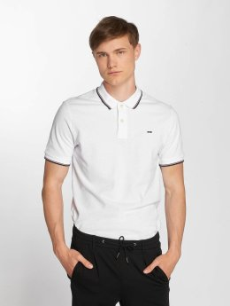 Jack & Jones jjeContrast Stripe Polo Shirt White