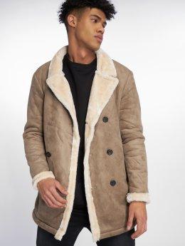 Jack & Jones Пальто jorWinter коричневый