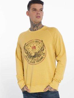 Jack & Jones Пуловер jprSteffan желтый