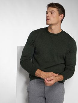 Jack & Jones Пуловер jjeBasic зеленый