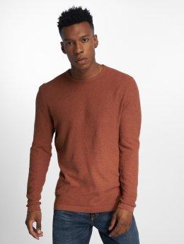 Jack & Jones Пуловер jprCase коричневый