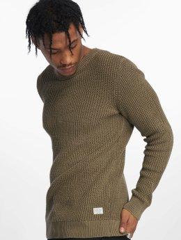 Jack & Jones Пуловер jorWalsh оливковый