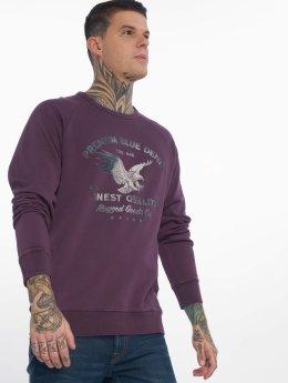 Jack & Jones Пуловер jprSteffan пурпурный