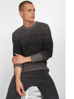 Jack & Jones Пуловер jorTwin серый