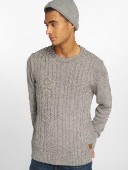 Jack & Jones Пуловер Jorjohnson серый